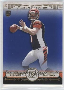 2014 Topps Museum Collection - [Base] - Sapphire #22 - AJ McCarron /99