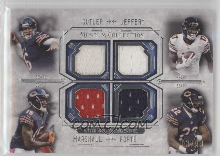 sports shoes 276c6 b386c 2014 Topps Museum Collection - Four-Player Quad Relics #FPQR ...