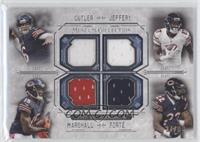Jay Cutler, Alshon Jeffery, Brandon Marshall, Matt Forte /99