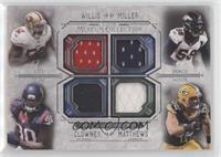 Patrick Willis, Von Miller, Jadeveon Clowney, Clay Matthews /99