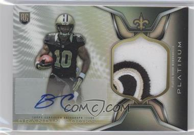 2014 Topps Platinum - Autograph Rookie Refractor Patch #ARP-BC - Brandin Cooks