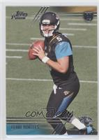 Blake Bortles (Two hands on ball)