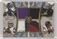 Teddy Bridgewater, Derek Carr, Jimmy Garoppolo, Tom Savage #/20