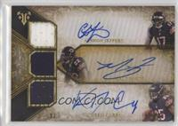 Alshon Jeffery, Ka'Deem Carey, Matt Forte /9