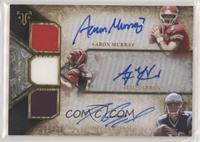 Aaron Murray, A.J. McCarron, Jimmy Garoppolo #/36