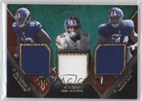 Odell Beckham Jr., Andre Williams, Victor Cruz #/18
