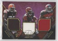 Terrance West, Charles Sims, Jeremy Hill #/27