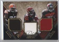 Terrance West, Charles Sims, Jeremy Hill #/36