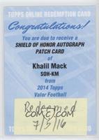 Khalil Mack [REDEMPTIONBeingRedeemed]