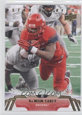 2014 Upper Deck - [Base] #85 - Ka'Deem Carey