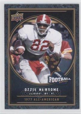 2014 Upper Deck - College Football Heroes #CFH-ON - Ozzie Newsome