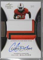 Clive Walford [Noted] #/1