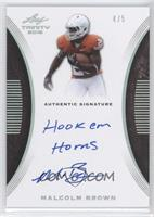 Malcolm Brown #/5