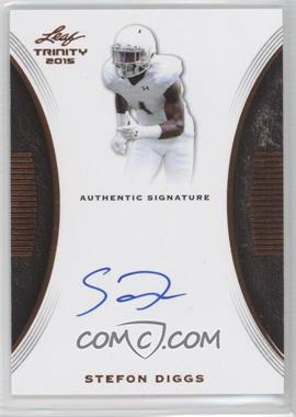 super popular bc1a0 097e2 2015 Leaf Trinity - Signatures #TS-SD1 - Stefon Diggs