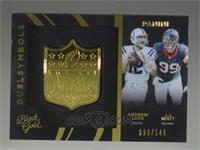 Andrew Luck, J.J. Watt #/149