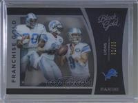 Calvin Johnson, Barry Sanders, Matthew Stafford /99