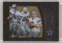 Emmitt Smith, Michael Irvin, Tony Romo #/199