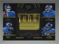 Odell Beckham Jr., Victor Cruz, Andre Williams, Eli Manning #/149