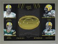 Aaron Rodgers, Eddie Lacy, Jordy Nelson, Ty Montgomery /149