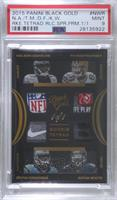 Nelson Agholor, Ty Montgomery, Devin Funchess, Kevin White [PSA 9 MIN…