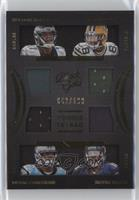 Nelson Agholor, Ty Montgomery, Devin Funchess, Kevin White #/199