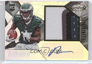 2015 Panini Certified - [Base] #237 - Freshman Fabric - Nelson Agholor /199