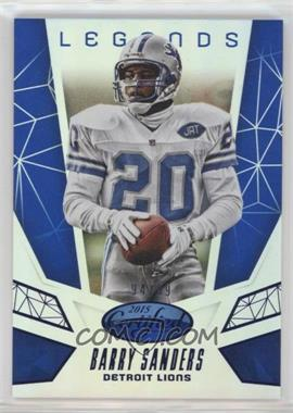 2015 Panini Certified - Certified Legends - Mirror Blue #CL9 - Barry Sanders /99