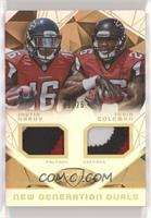Justin Hardy, Tevin Coleman #/25
