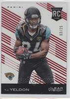 T.J. Yeldon (Ball in Both Hands) #/25