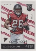 Tevin Coleman (Chest Number Fully Visible) #/25