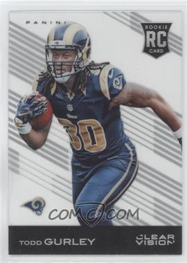 2015 Panini Clear Vision - [Base] #110.1 - Todd Gurley (Running)
