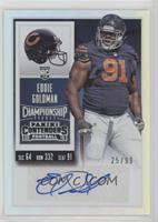 Rookie Ticket - Eddie Goldman /99