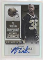 Rookie Ticket - P.J. Williams #/99