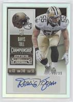 Rookie Ticket - Davis Tull (Base) /99