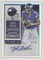 Rookie Ticket - Taylor Heinicke #85/99