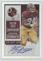 Rookie Ticket - Preston Smith /99