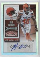 Rookie Ticket - Nate Orchard #/99