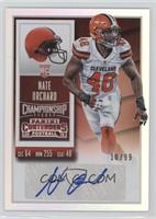 Rookie Ticket - Nate Orchard /99