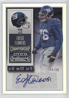 Rookie Ticket - Ereck Flowers #/99