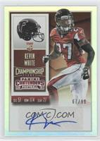 Rookie Ticket - Kevin White /99