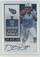 Rookie Ticket RPS - David Cobb (Team Logo) /49