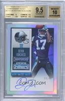 Rookie Ticket RPS - Devin Funchess (Base) /49 [BGS9.5GEMMINT]