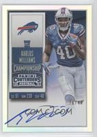 Rookie Ticket RPS - Karlos Williams (Team Logo) /49