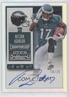 Rookie Ticket RPS - Nelson Agholor (Base) #/25