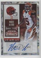 Rookie Ticket - Mario Alford (Base) #/23