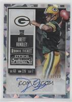 Rookie Ticket RPS - Brett Hundley (Team Logo) #/23