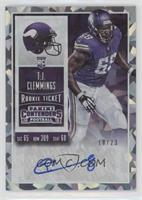 Rookie Ticket - T.J. Clemmings /23