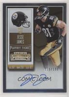 Rookie Ticket - Jesse James (Base) #/199