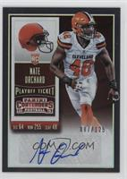 Rookie Ticket - Nate Orchard #/125