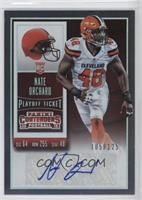 Rookie Ticket - Nate Orchard /125